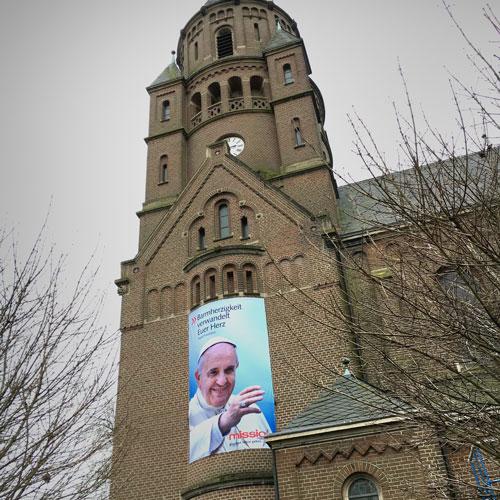 Papst Franziskus in Hiddingsel