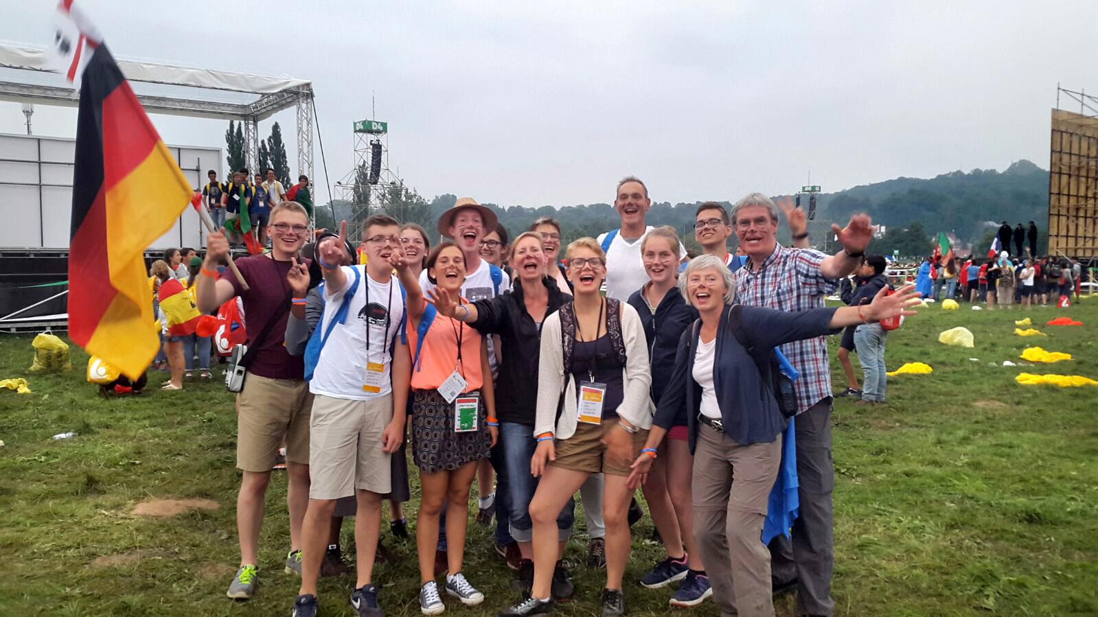 Weltjugendtag in Krakau | Messdienerleiter von Hiddingsel