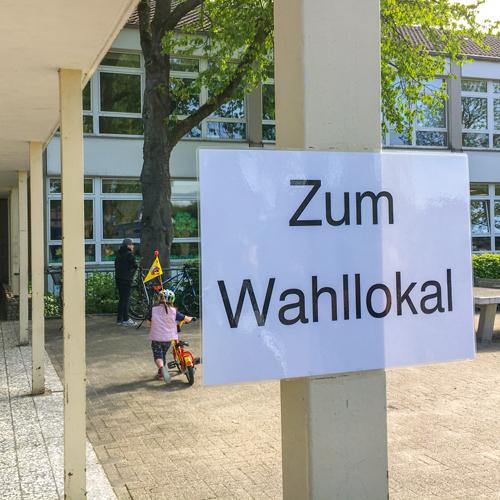 Landtagswahl 2017 Stimmverteilung Hiddingsel