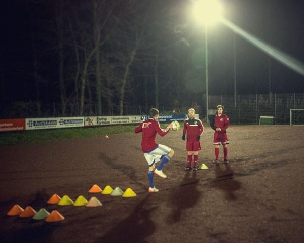 Trainingsauftakt Vorwärts Hiddingsel 2016