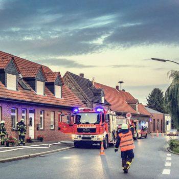 Freiwillige Feuerwehr Dülmen Hiddingsel Übung am 29.08.2017