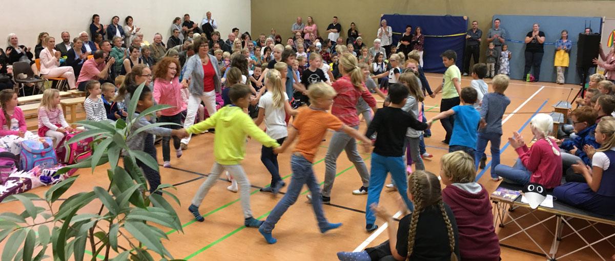 Einschulung St. Georg Grundschule Hiddingsel