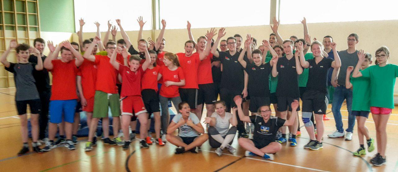 Völkerballturnier in Hiddingsel