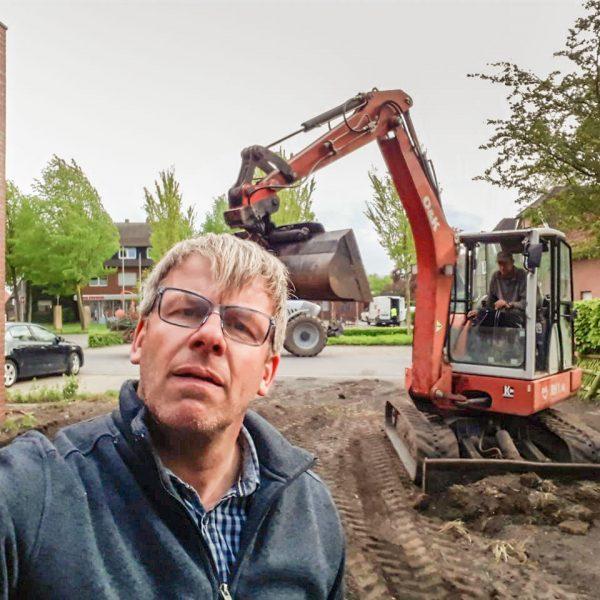 CDU Hiddingsel repariert Zaun repariert und sorgt zusätzlich für eine Abkürzung