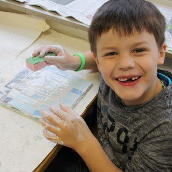 Kleine Handwerker war das Motto der Projektwoche in der Grundschule Hiddingsel