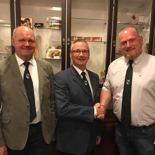 Königsfreibier mit neuer Besetzung im Vorstand