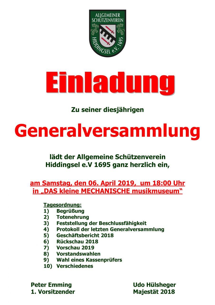 #Generalversammlung