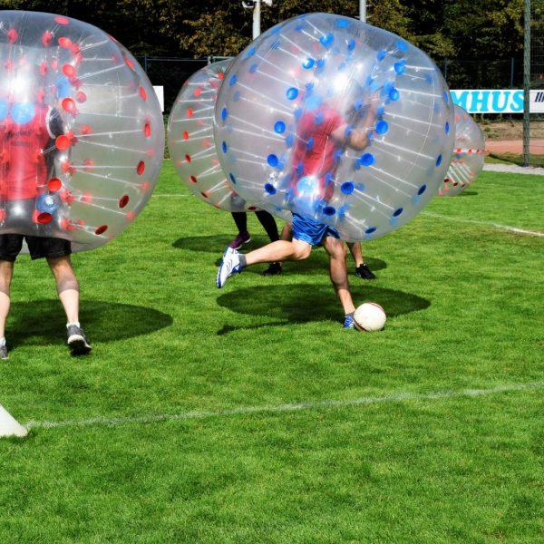 Bubble-Ball Turnier als Abschluss der Hiddingseler Sportwoche