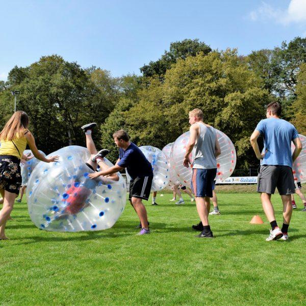 Bubble-Ball als Highlight auch für die Zuschauer